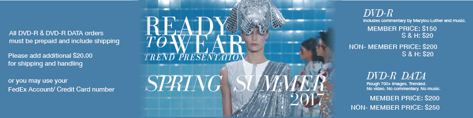 Ready to Wear- FW2016 DVD
